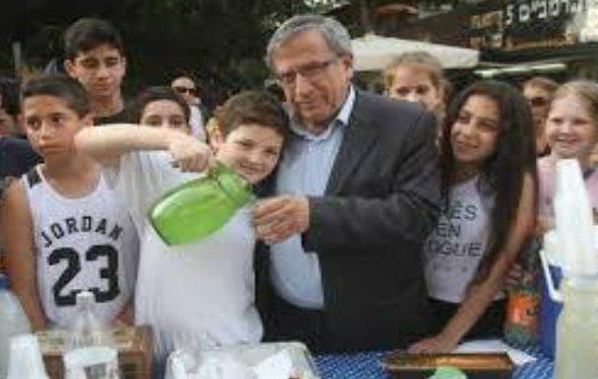 ישראל זינגר ביום העצמאות (ישראל היום)
